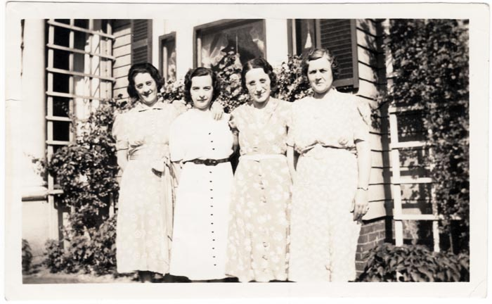 My grandmother on the right